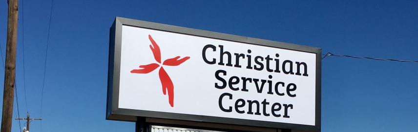 Christian Service Center new location Photos courtesy Christian Service Center
